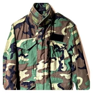 Genuine Military Issue Field Jacket Camouflage